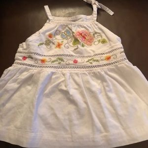 Baby Gap Embroidered Tank Top